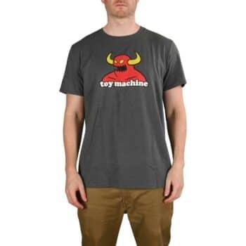 Toy Machine Monster T-Shirt - Graphite Grey
