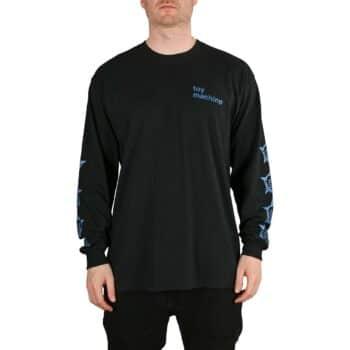 Toy Machine Robot Star L/S T-Shirt - Black