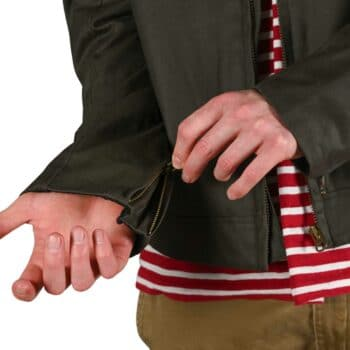 Triumph Kirk Waxed Cotton Jacket - Khaki