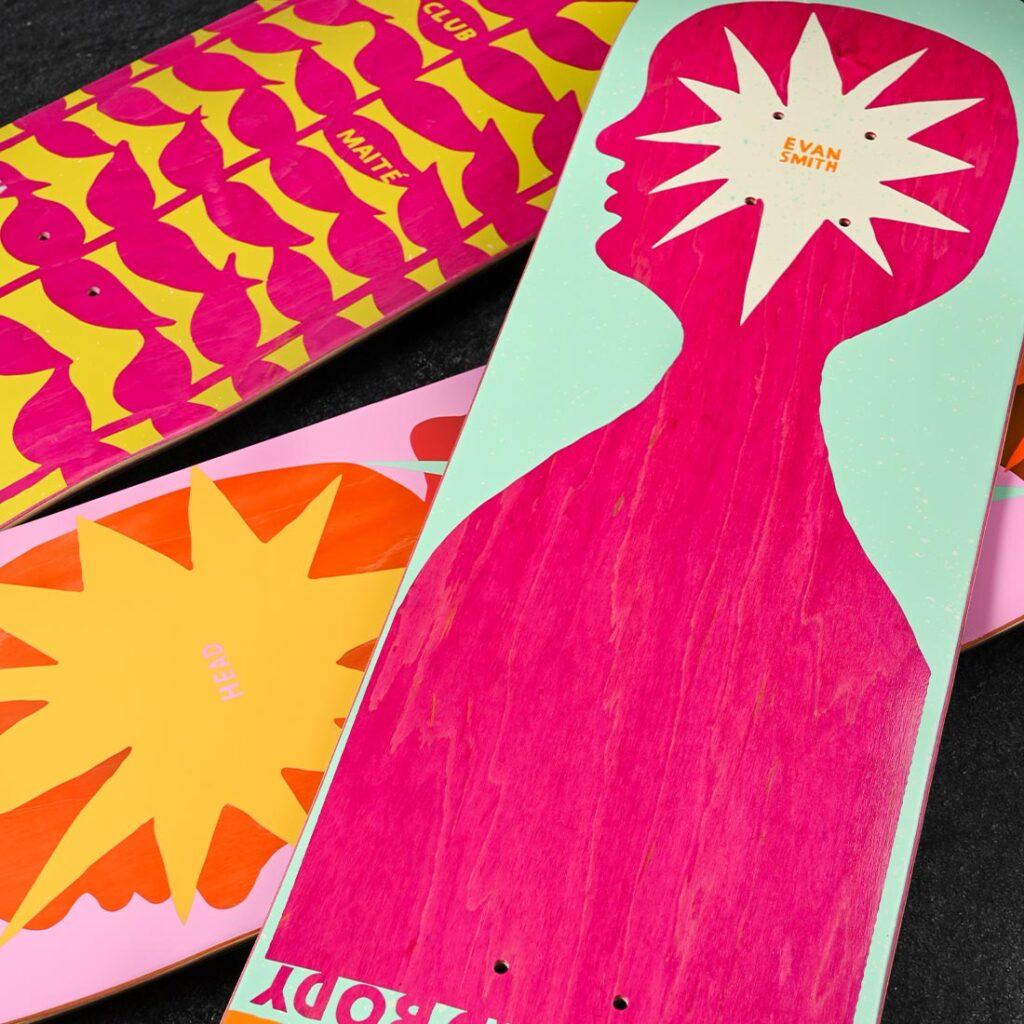 UMA Landsleds Skateboards