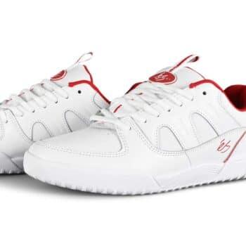 eS Silo SC Skate Shoes - White/Red